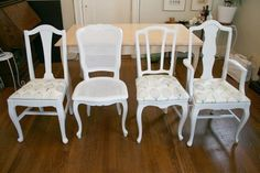 Elizabeth's Project: Dining Room Set Redo #2