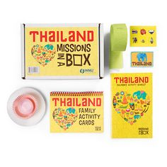 Missions in a Box: Thailand Family Activities, Learning Activities, Countries, Children, Kids, Families, Thailand, Explore, Future