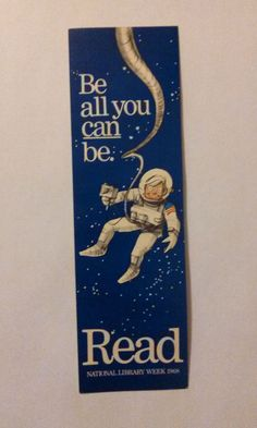 1968 National Library Week Bookmark