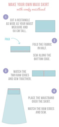 How To Sew | diy maternity maxi skirt. I'm sure I would never do this, but it'd be cool to do.
