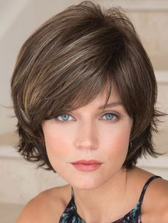 The Sky Partial Mono Wig by Noriko is a synthetic layered and textured with a monofilament part for added comfort and versatility. Short Layered Haircuts, Layered Bob Hairstyles, Down Hairstyles, Short Hair Cuts, Straight Hairstyles, Pixie Haircuts, Medium Hairstyles, Braided Hairstyles, Wedding Hairstyles