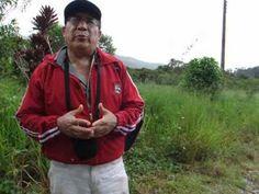 Finqueros hacen reparos al proyecto minero Mirador en El Pangui, Zamora Chinchipe, Amazonía ecuatoriana.