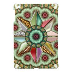 Abstract Geometric Star Design iPad Mini Case