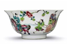 A famille rose bowl, Yongzheng mark and period.