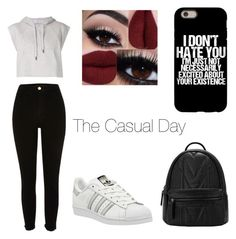 A fashion look from March 2016 featuring sleeveless hoodies, high waisted jeans and white sneakers. Browse and shop related looks. Sleeveless Hoodie, White Sneakers, High Waist Jeans, Fashion Looks, Adidas, Day, Casual, Polyvore, Shopping