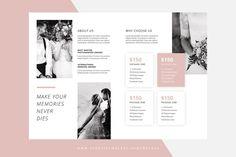Bifold Pricing Photograph Brochure - Brochures