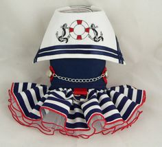 Small+dog+harness+dress.+Nautical+sailor+embroidery+by+pondskipper,+$60.00