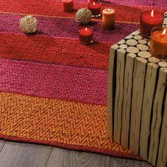 Teppich bunt gestreift  Teppich bunt Kigali 140x200 | zimmer | Pinterest | Teppiche ...