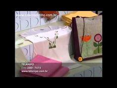 ▶ Dica Ana Cosentino: Customização de Camisetas (Ateliê na TV) - YouTube
