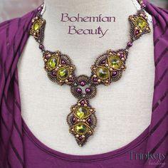 Beading pattern - Necklace 'Bohemian Beauty'