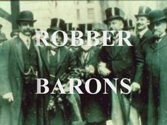 This video tells of the Robber Barons, or Captains of Industry, of turn of the century America. Nice catchy way of doing it from @HistoryTunes