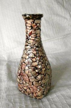 Vase of Eggshell Mosaic