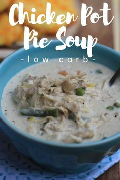 chicken pot pie soup / ket0 chicken pot pie soup / low carb chicken pot pie/ keto recipes / low carb recipes / kept soup recipe /lchf / ketogenic #keto #lowcarb #ketogenic #recipes #soup / instant pot recipes / crock pot recipes #instantpot