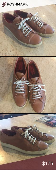 Ferragamo Ladies Sneakers Ferragamo Ladies Sneakers. EUC. Worn lovingly Ferragamo Shoes Sneakers