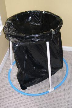 Diy Trash And Recycling Bin