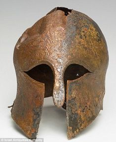Mystery of incredibly ornate 2,600-year-old bronze Greek warrior helmet found on seabed