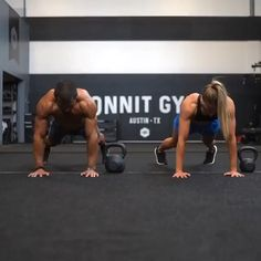 Hiit, Kettlebell Workout Routines, Kickboxing Workout, Gym Workout Videos, Gym Workout For Beginners, Fun Workouts, Fun Exercises, Side Fat Workout, Sport Fitness