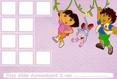 Dora & Diego - Website of dikkeduimenkaarten!
