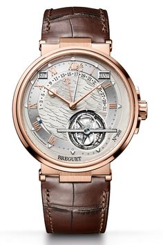 Like the minute repeater and perpetual calendar, the equation of time is a complication rooted in the history of watchmaking, and is therefore a collectors' favorite. Breguet's complex new version, introduced at Baselworld 2017, is a triple complication that also incorporates a tourbillon and a