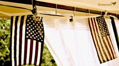 DIY Outdoor Canopy Curtains http://www.homeroad.net/2013/07/diy-outdoor-canopy-curtains.html
