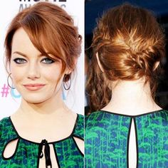Amazing Wedding Updos from Every Angle - Emma Stone from #InStyle