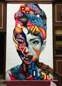 Tristan Eaton New Mural In New York City, USA