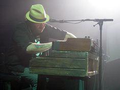 Jeff Heisholt of the Trews, Rockin' Wheels, Tri-County Arena, Mt Brydges, ON, June 9/18.