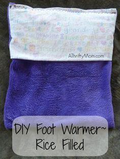 DIY foot warmer