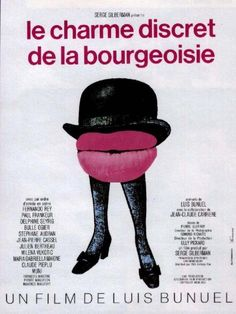 French poster by René Ferracci, dir. Luis Bunuel.