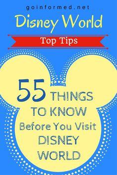 Start your Disney World planning here. 55 excellent Disney World tips!