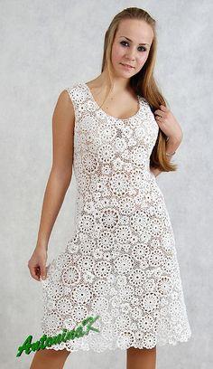 White dress, cotton by antonina.kuznetsova, via Flickr