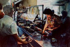 Artist Steve Bird  - Pie and Chips - www.stevebirdartist.co.uk Facebook: www.facebook.com/stevebirdartist Twitter: www.twitter.com/stevebirdartist Google+ : https://plus.google.com/+StevebirdartistCoUk/posts Pinterest: http://uk.pinterest.com/stevebirdartist/  @stevebirdartist #painter #artist #art #fineart #portrait #watercolour #British
