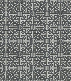 Home Decor Upholstery Fabric-Crypton Aztec-Black. $69.99 JoAnns
