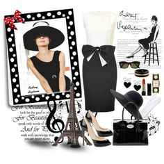 """Audrey Hepburn Paris Is Always a Good Idea"" by gomila-anne on Polyvore"