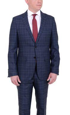 Мужская современные подходят голубой плед две кнопки супер 150's шерстяной костюм | Одежда, обувь и аксессуары, Одежда для мужчин, Костюмы | eBay!