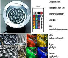 smart Remote Control 24 w adjustable Underground  Paving Light from Dongguan simu hardware lighting co,ltd. Auto change color or RF remote control color change or infrared control Smart color change or Wifi control or DMX Control led outdoor lighting