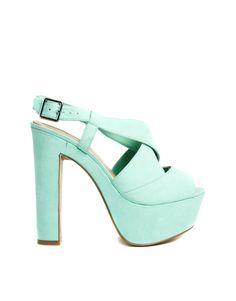 dd2ca4c4d3 New Look Scuttle Mint Green Heeled Sandals