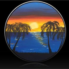Sunset by Customized by Design spare tire cover. Custom made to fit your spare tire. Just provide the spare tire size when ordering. Custom Tire Covers, Spare Tire Covers, Salesman Humor, Car Salesman, Sun Stock, Car Buying Tips, Boat Seats, New Mercedes, Car Logos