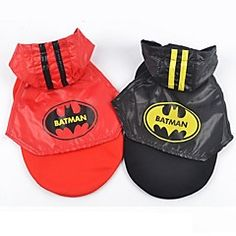 Batman Stylish Eyelet Fabric Mantle for Pets Dogs (Assorted ... – GBP £ 9.77