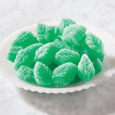 Spearmint Jelly Leaves #mintcandy #sweettreats #christmasgoodies #jellycandy #stockingstuffer