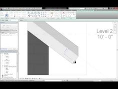Chamfered or Fillet Beam Ends - YouTube