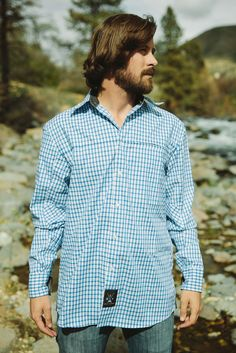 Men's Roaring Fork Shirt Classic Looks, Dusk, Outdoors, Technology, Zipper, Pockets, Shirt Dress, Fresh, Tecnologia