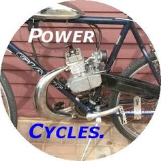 Our Logo! Motorized Bicycle, Logos, Vehicles, Logo, Car, Vehicle, Tools