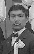 Benjamin Alfred Haldane (1874-1941) was a Tsimshian professional photographer from Metlakatla, Alaska. My Great-Grandfather