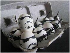 hahahaha egg stormtroopers!
