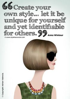 Thanks, Anna Wintour! Motivational Quote Monday on the Fringe Blog!