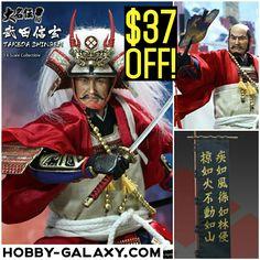 Pre-Order at Hobby-Galaxy.com!  #ACIToys #Japanese #WarringStates #Daimyo #Takeda Shigen #OneSixScale Deluxe #ActionFigure $37 OFF!  #sengoku #samurai #japaneseculture #actionfigures #onesix #onesixthfigure  #onesixthrepublic #武田信玄 #武田信玄 #戦国 #戦国時代 #hobbygalaxy