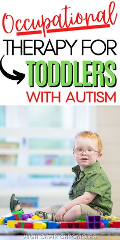 Here is information and resources for moms needing occupational therapy for toddlers with autism. Learn tips for choosing the right therapist and helpful advice, mom to mom. Occupational Therapy Autism, Behavioral Therapy, Autism Diagnosis, Sensory Issues, Postpartum Recovery, Tough Love, Three Year Olds, Speech Therapy, New Moms