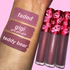 Lime Crime Faded / Gigi (Girls Girls Girls / Teddy Bear