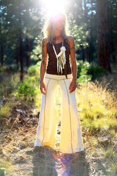 Simone Wideleg Flow Pants by ImOneCreations on Etsy, $75.00